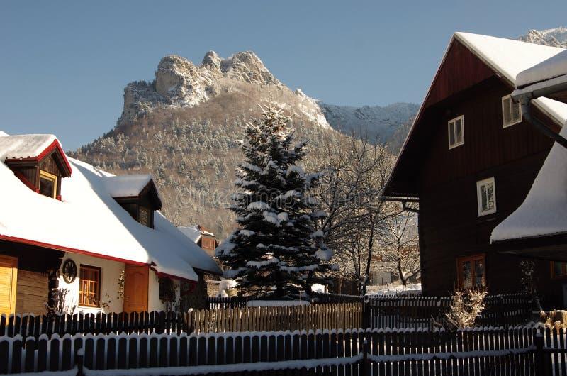 TERCHOVA, SLOVAKIA-January 16 royalty free stock images