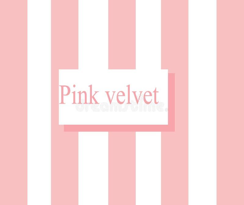 Terciopelo rosado fotografía de archivo