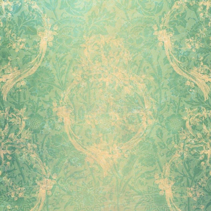 Terciopelo verde ilustración del vector