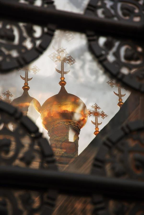 Terem churches of Moscow Kremlin. UNESCO World Heritage Site. Terem churches of Moscow Kremlin, a popular touristic landmark. UNESCO World Heritage Site. Color royalty free stock photo