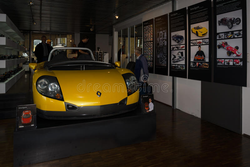 Terenówka Renault Sport Spider zdjęcia stock