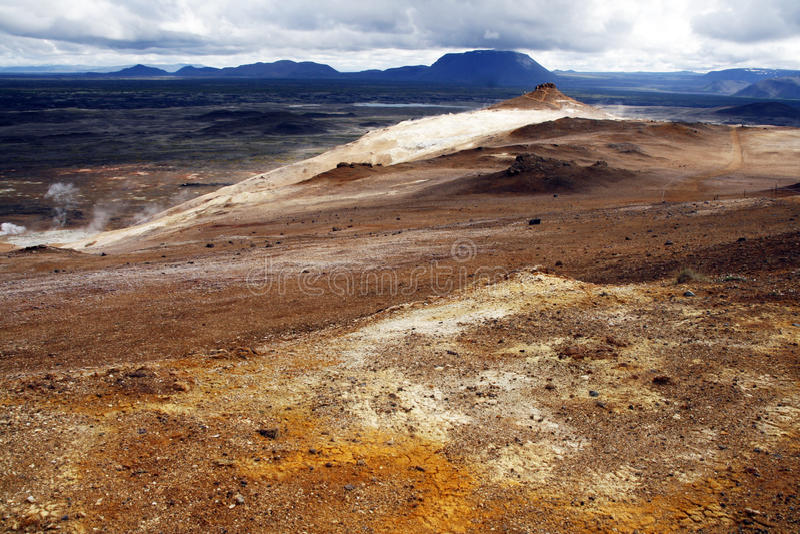 teren geotermiczny fotografia royalty free
