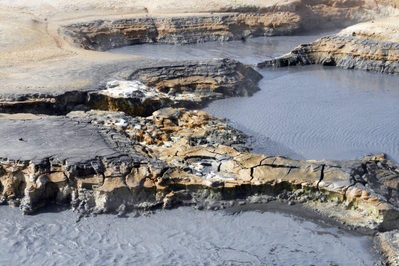 teren geotermiczny zdjęcia royalty free