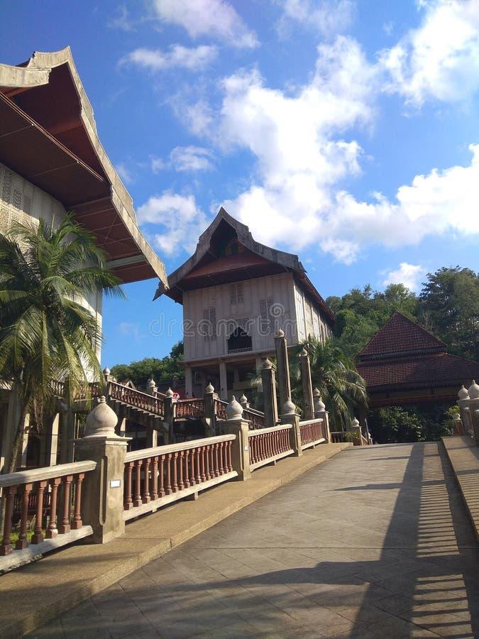 Terengganu-Museum lizenzfreies stockfoto