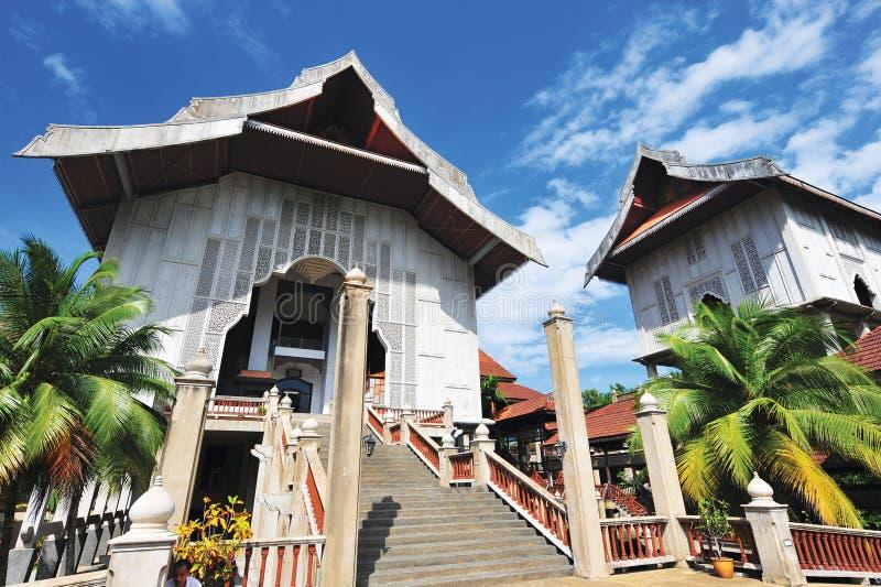 Terengganu tillst?ndsmuseum royaltyfria bilder