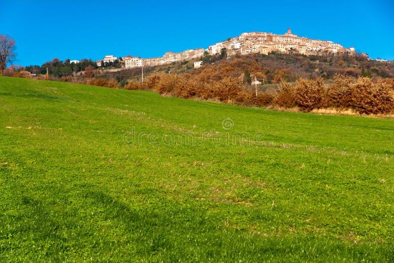 terenu chianti Italy krajobrazowy Tuscany zdjęcia stock
