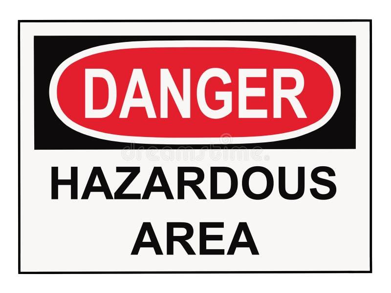 terenu niebezpieczeństwa niebezpieczny znak obrazy royalty free