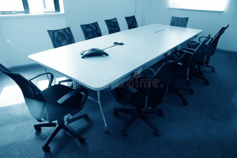 terenu sala posiedzeń pusty spotkanie obraz stock