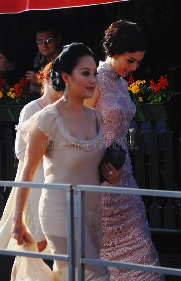 Download Teresa Cheung, Zhu Xuan At Moscow Film Festival Editorial Photography - Image: 25649207