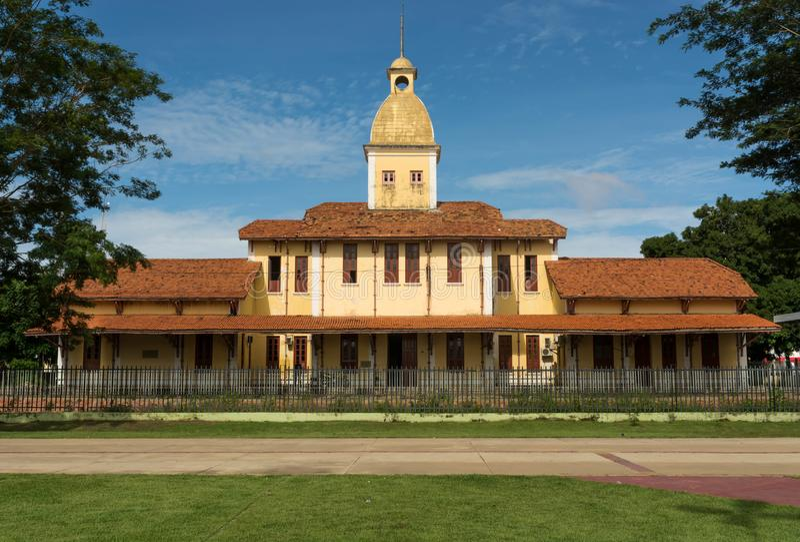 Teresina Railway Station imagens de stock royalty free
