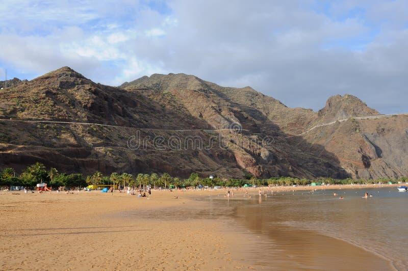 teresitas de las playa tenerife στοκ εικόνες με δικαίωμα ελεύθερης χρήσης