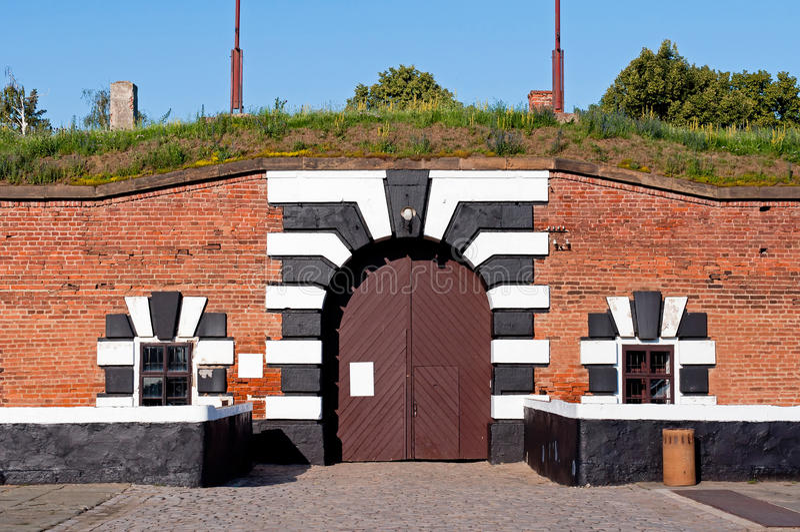 Terezin Fort stockbild