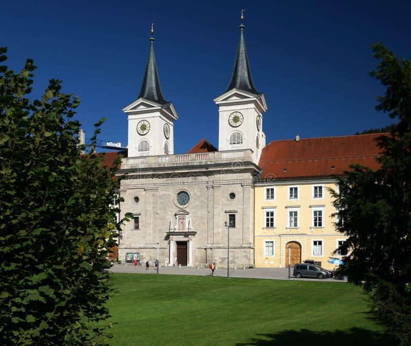 Tergernsee abbotskloster arkivbild