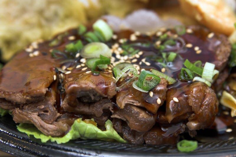 teriyaki βόειου κρέατος στοκ εικόνες