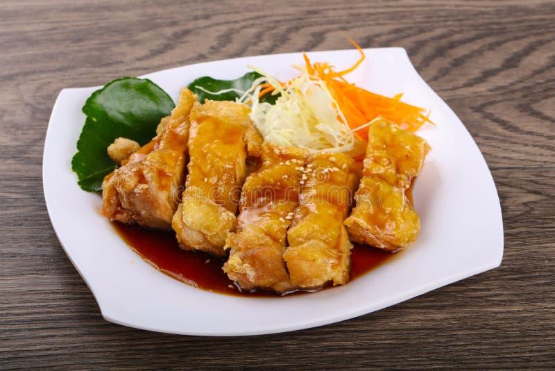 Teriyaki chicken stock photo