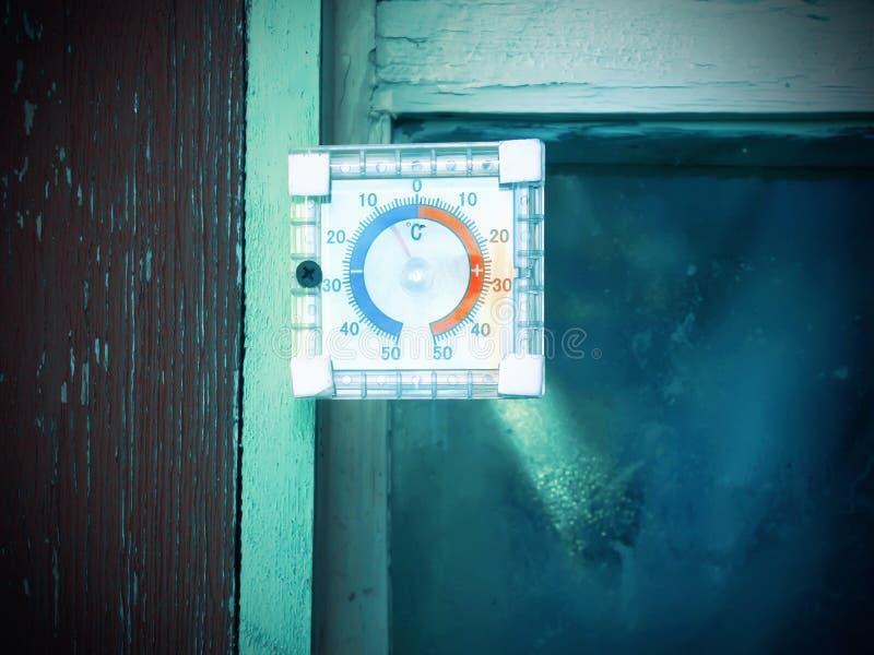 Termómetro foto de archivo libre de regalías