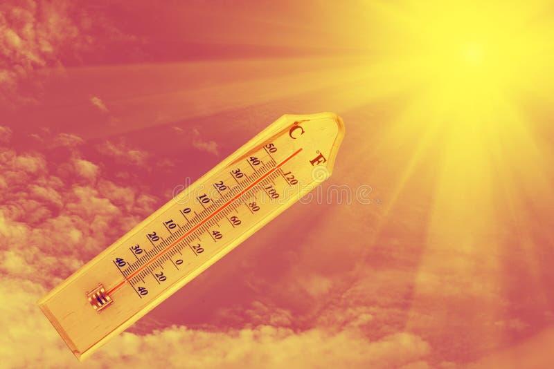 termómetro imágenes de archivo libres de regalías