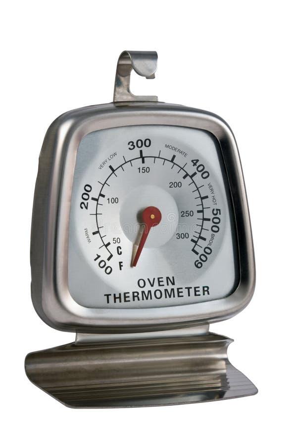 Termômetro de forno imagens de stock