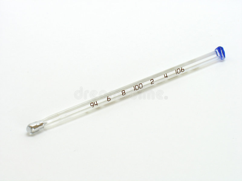 Termômetro médico foto de stock royalty free