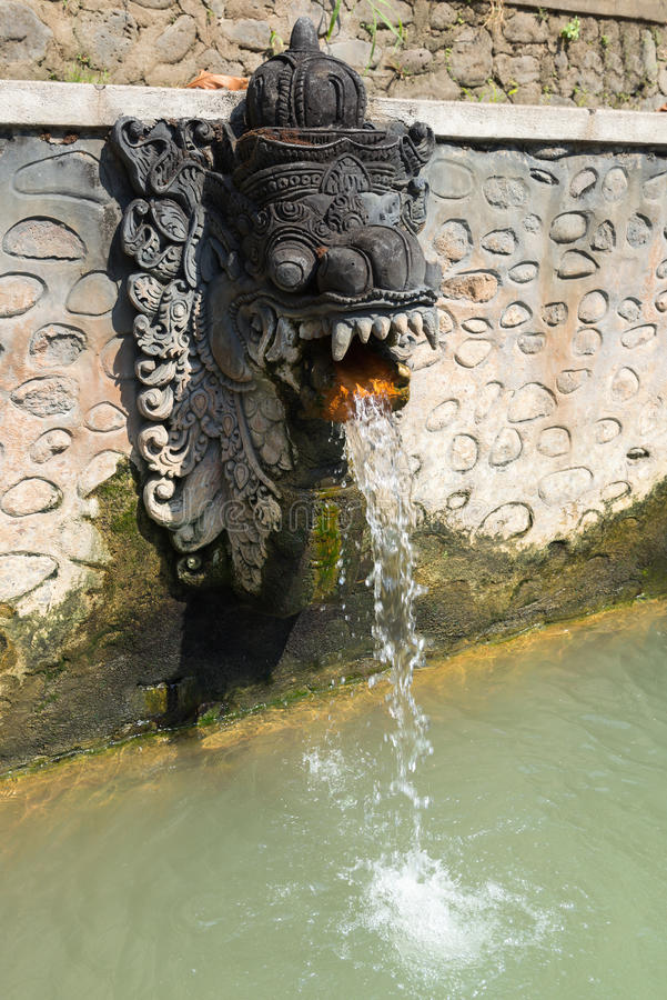 Termal Hot Springs su Bali fotografie stock libere da diritti