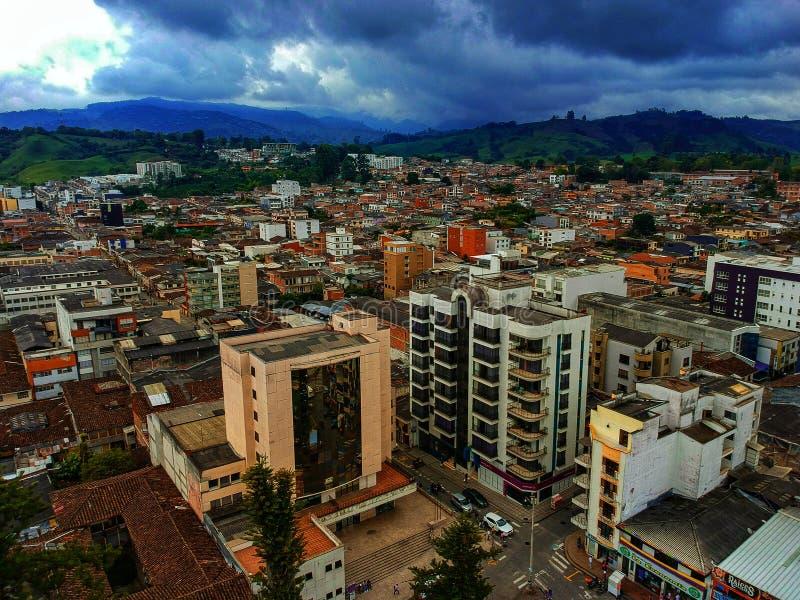 Termales frais de la Colombie Santa Rosa Risaralda photo stock