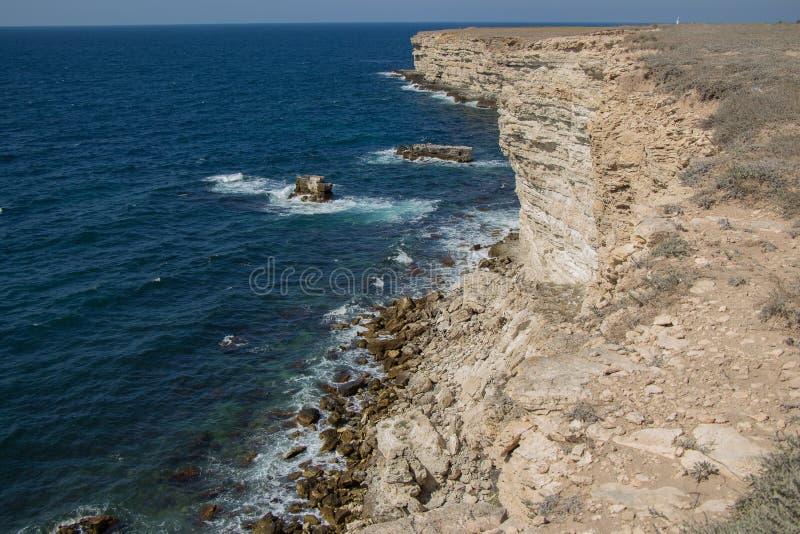 Termas crimean Excursão do mar reserva imagem de stock