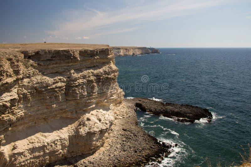 Termas crimean Excursão do mar reserva foto de stock royalty free