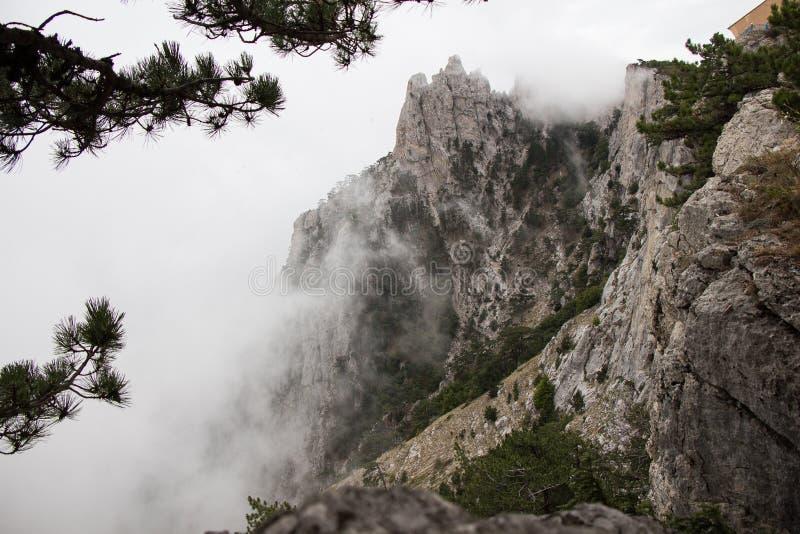 Termas crimean Montanhas verão descanso fotografia de stock royalty free