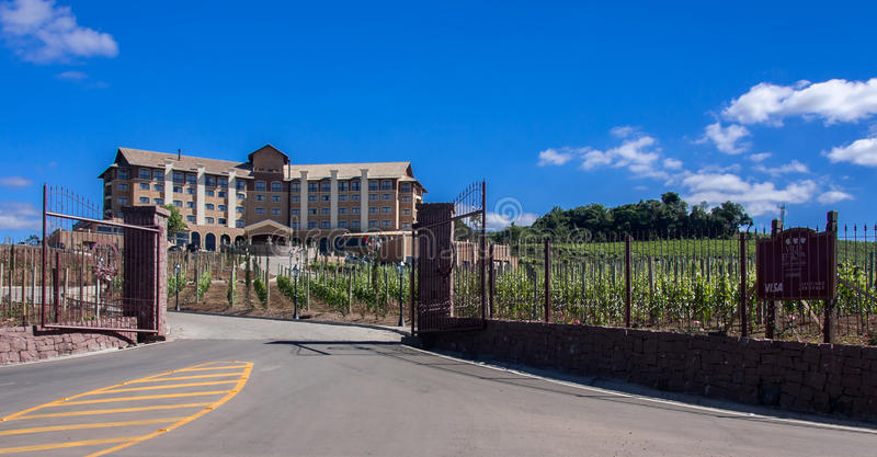 Termas do vinho em Bento Goncalves fotos de stock royalty free