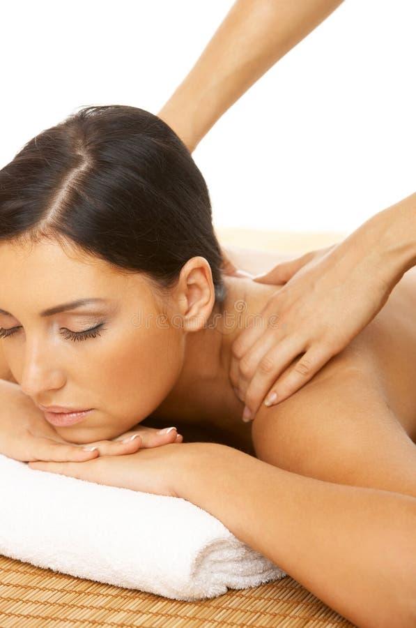 Termas e massagem imagem de stock
