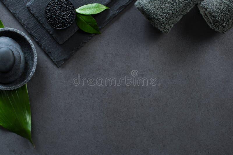 Termas pretos luxuosos imagens de stock
