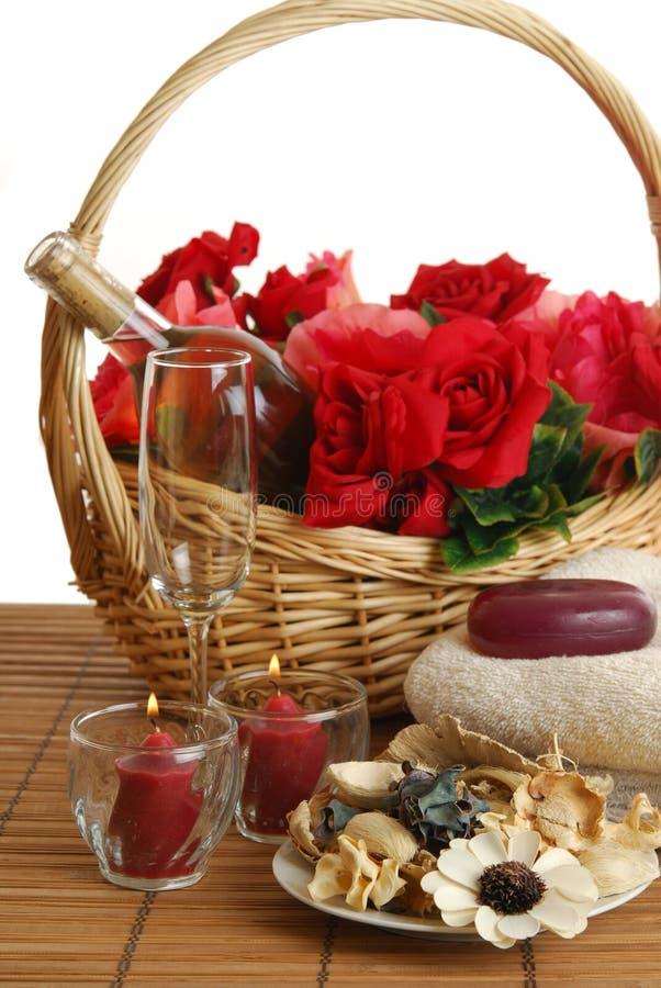 Termas românticos fotos de stock royalty free