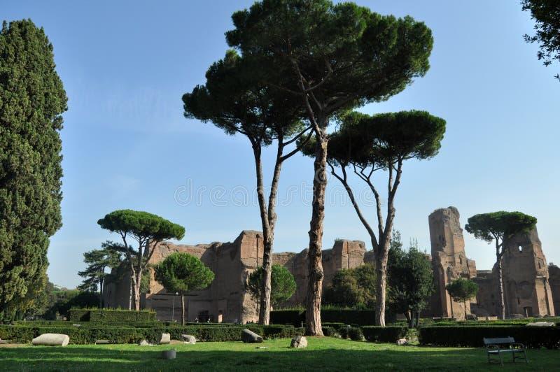 Terme di Caracalla photos stock