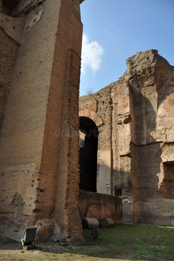 Download Terme di Caracalla stock photo. Image of aventino, cold - 22346892