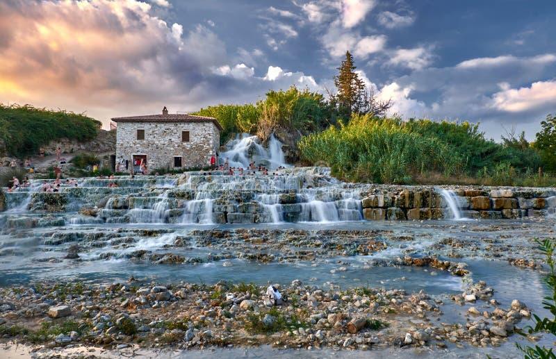 Terme di saturnia editorial photo image of cascade - Bagni di saturnia ...