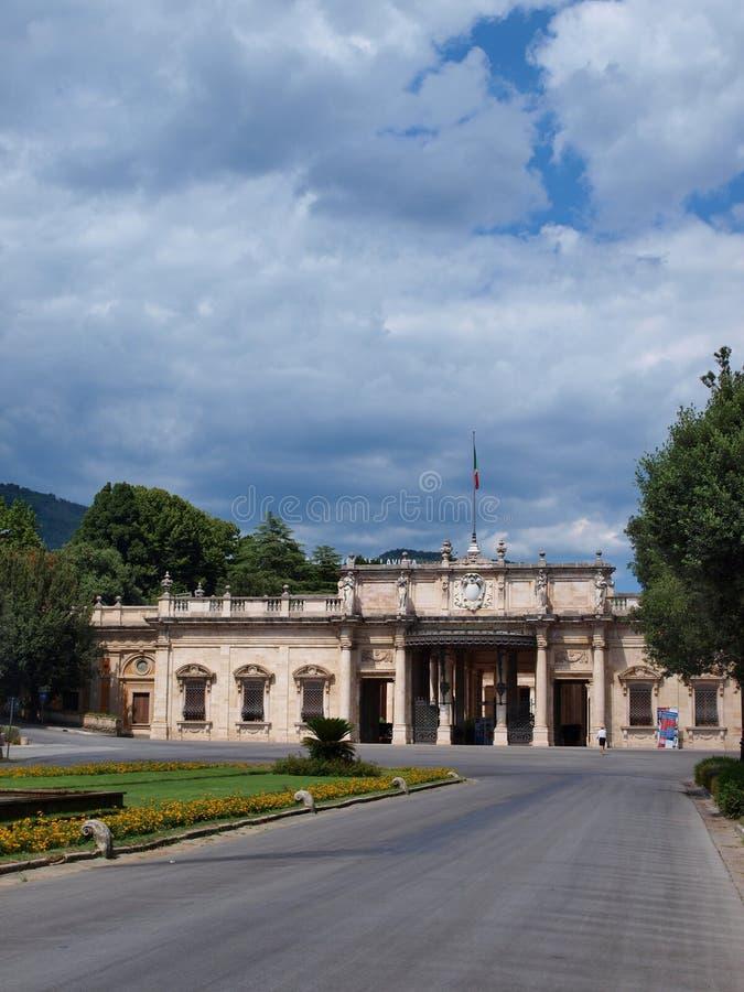 Terme Tettuccio, Montecatini Terme,意大利 免版税图库摄影