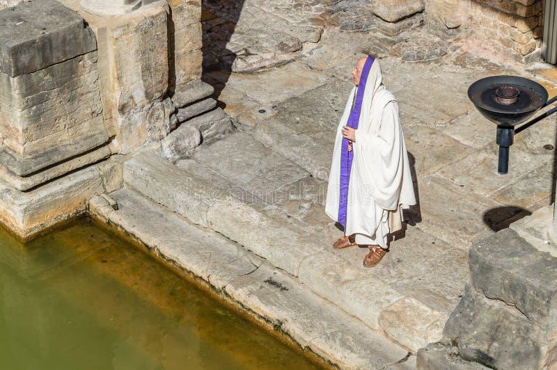 Termes romains à Bath photos libres de droits