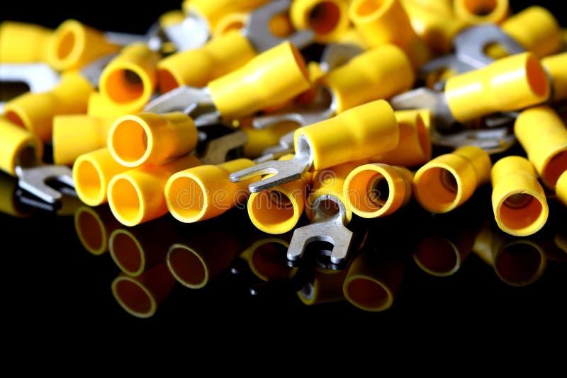 Terminais elétricos 2 imagens de stock
