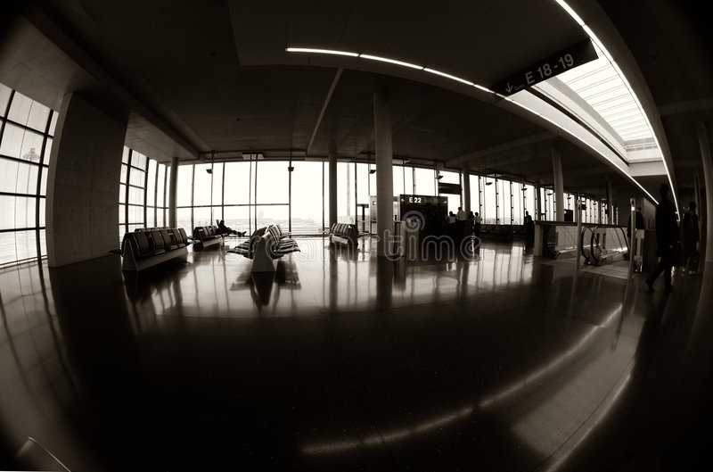 Terminal 1 royalty-vrije stock afbeelding