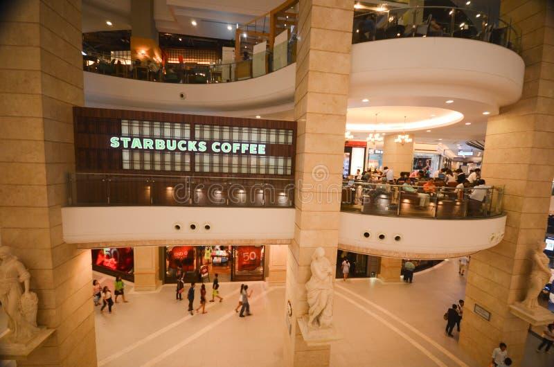 Terminal 21 mall in Bangkok stock photography