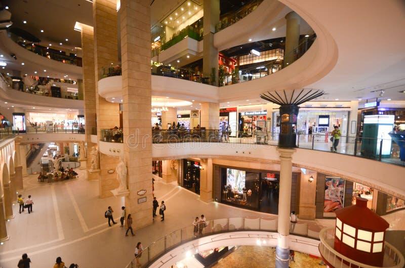 Terminal 21 mall in Bangkok royalty free stock images