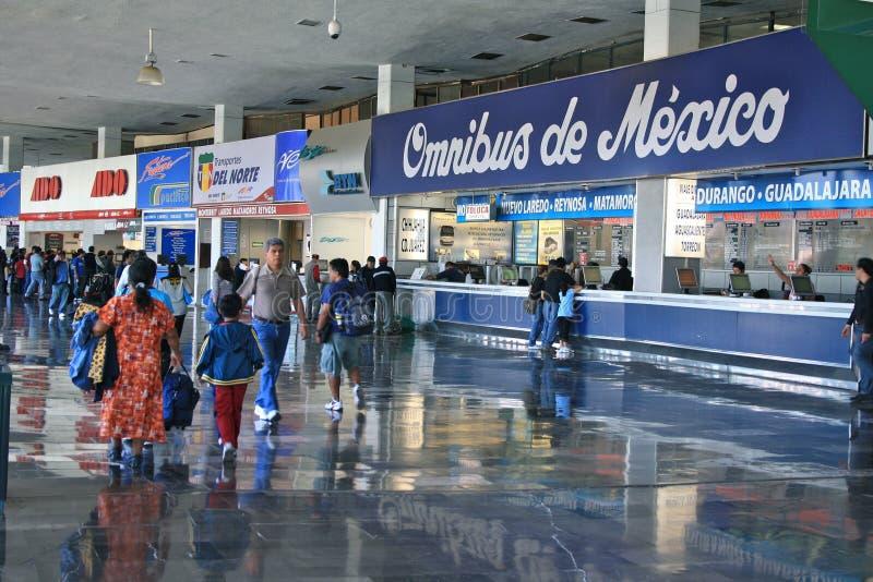 Terminal Central del Norte, Mexico City stock image