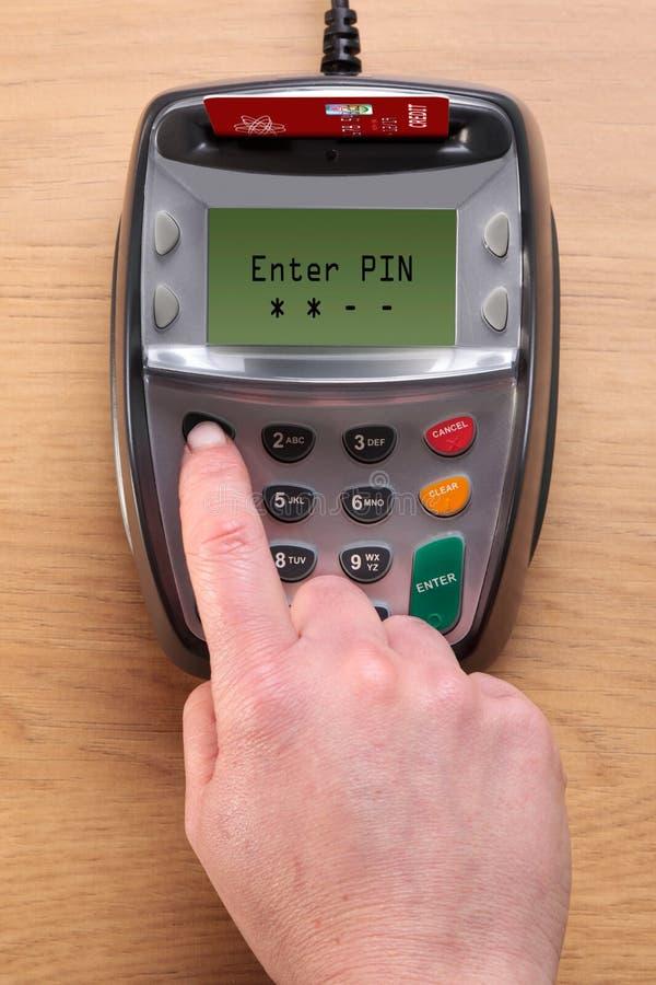 Terminal da microplaqueta e do Pin imagem de stock