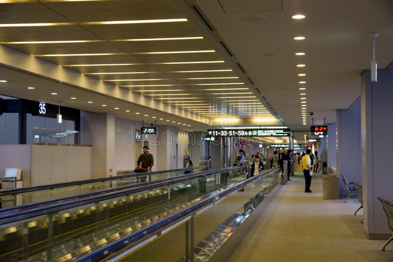 Terminal de aeroporto de Narita fotografia de stock royalty free