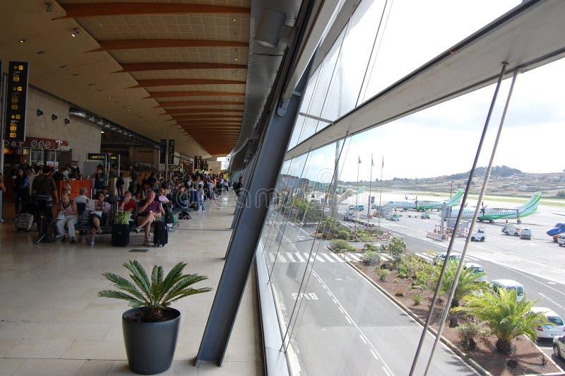 Terminal de aeroporto de Tenerife fotografia de stock royalty free