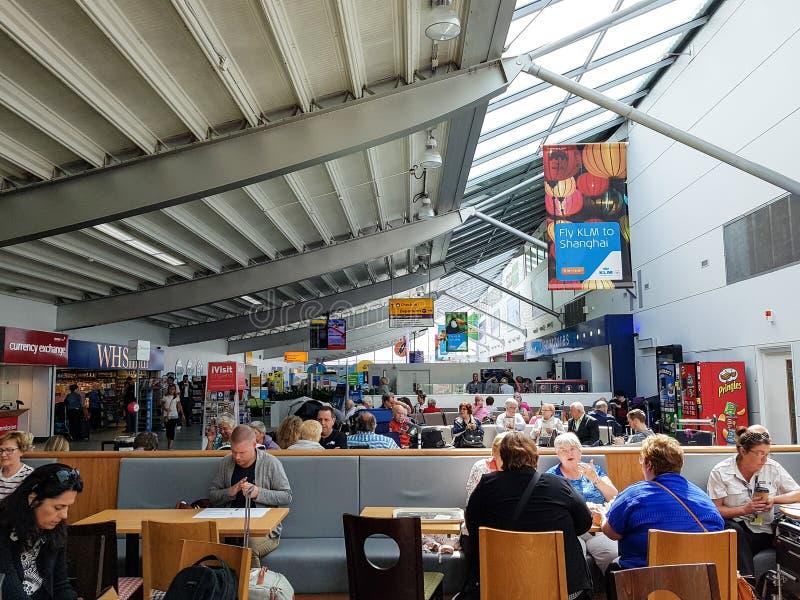 Terminal de aeropuerto de Southampton fotos de archivo libres de regalías