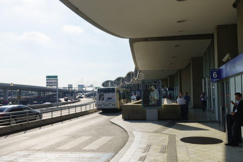 Terminal de Charles de Gaulle Airport foto de archivo