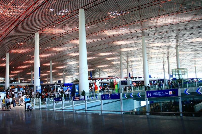 terminal de construction d'aéroport photo stock