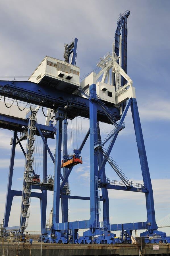 Terminal de contenedores grúas del envase de 50 toneladas