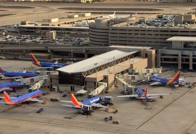Terminal de Southwest Airlines photo stock